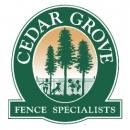 Cedar Grove Fence