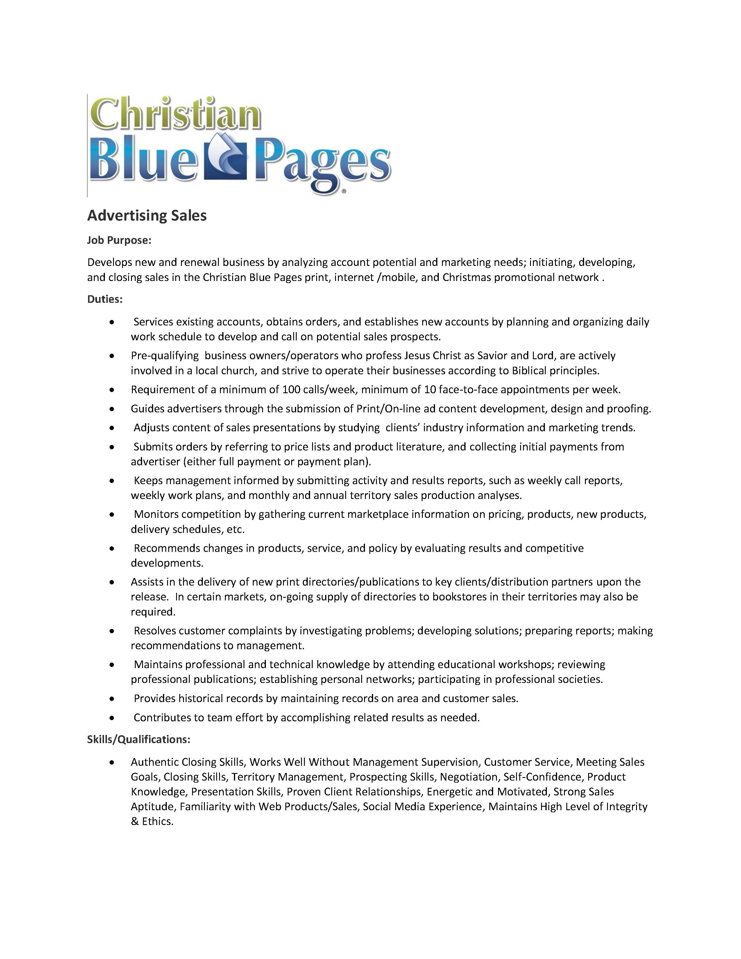 careers trust blue review job description 1